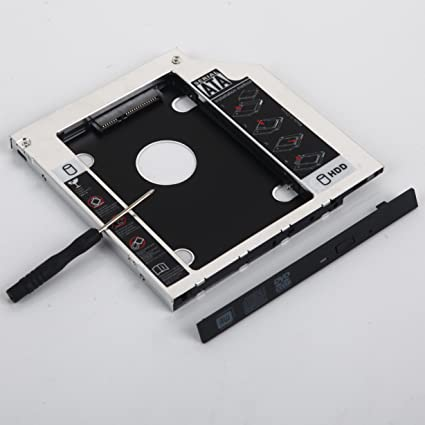 Amazon com: DY-tech 2nd Hard Drive HD SSD Caddy for Dell