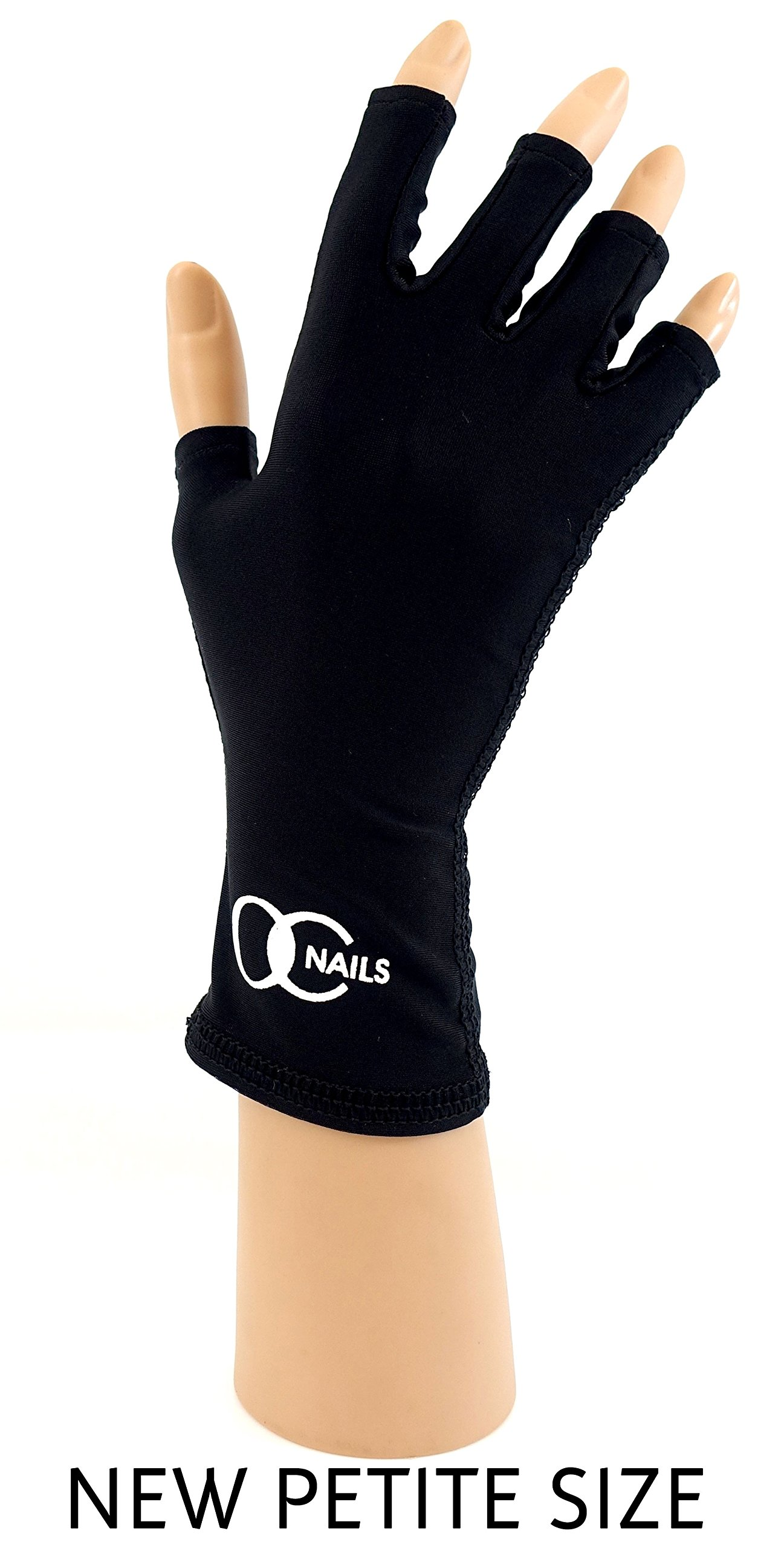 Amazon.com: OC Nails UV Shield Glove (AMETHYST ~ PETITE) Anti UV ...
