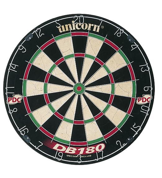 14 opinioni per Unicorn- DB 108, Tabellone per freccette, colore: Nero/Bianco/Rosso/Verde