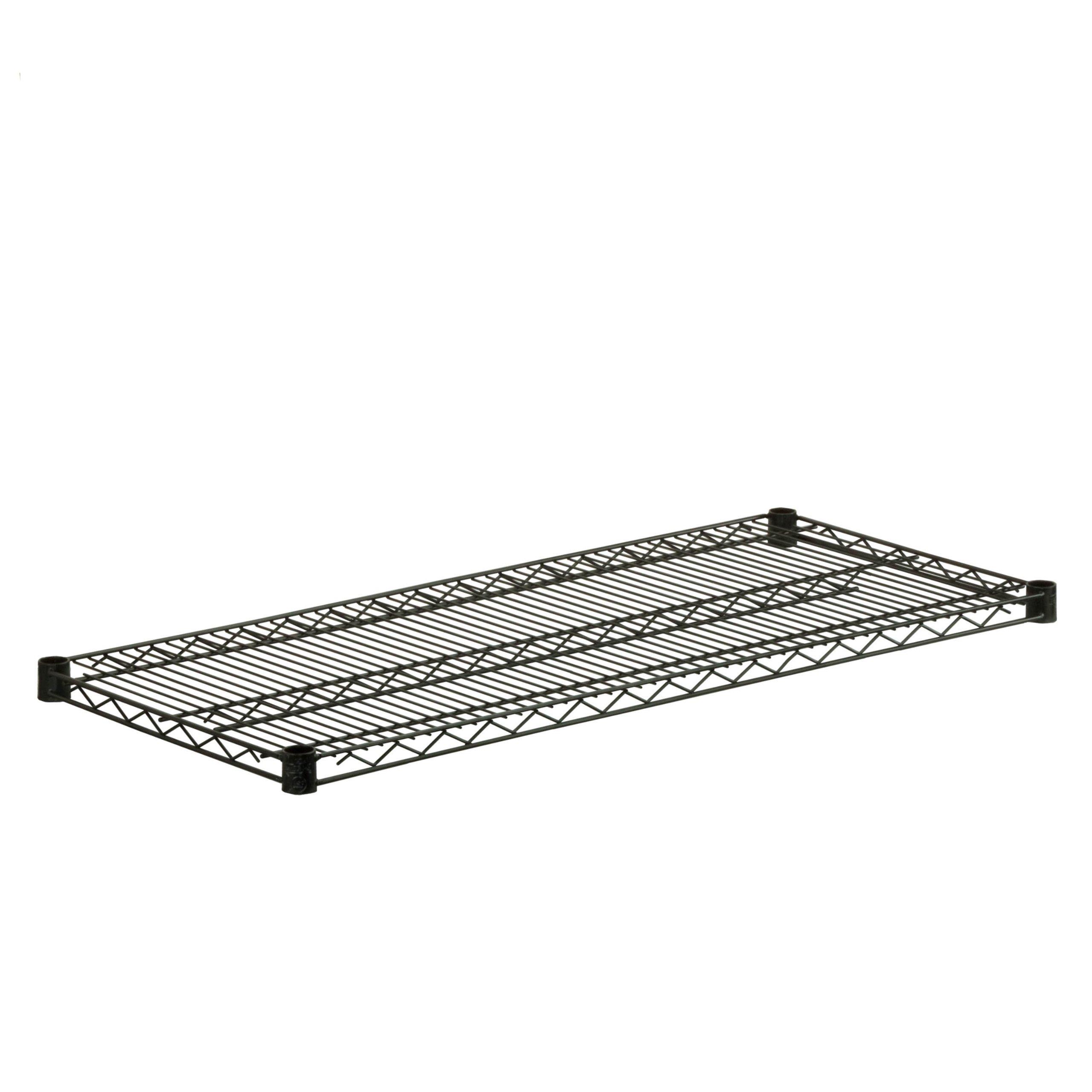 Honey-Can-Do SHF800B1842 Steel Wire Shelf for Urban Shelving Units, 800-Pound Capacity, Black, 18Lx42W