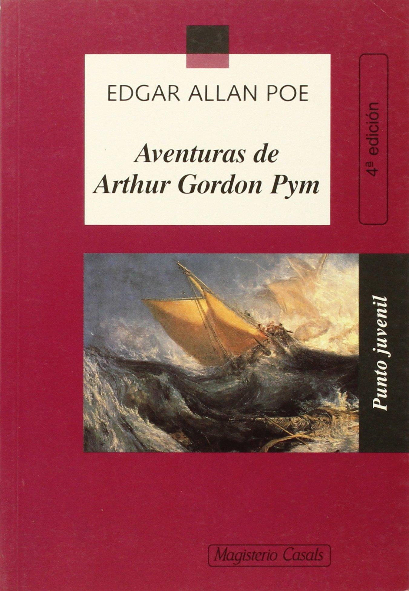 Aventuras de Arthur Gordon Pym (Punto Juvenil): Amazon.es: Edgar Allan Poe: Libros