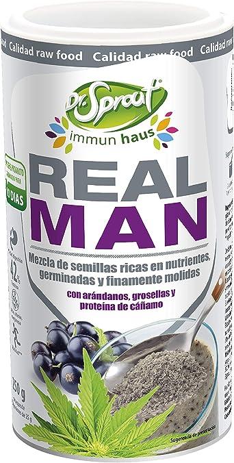 Dr. Sprout Real Man Shake, Mezcla de Semillas ricas en ...