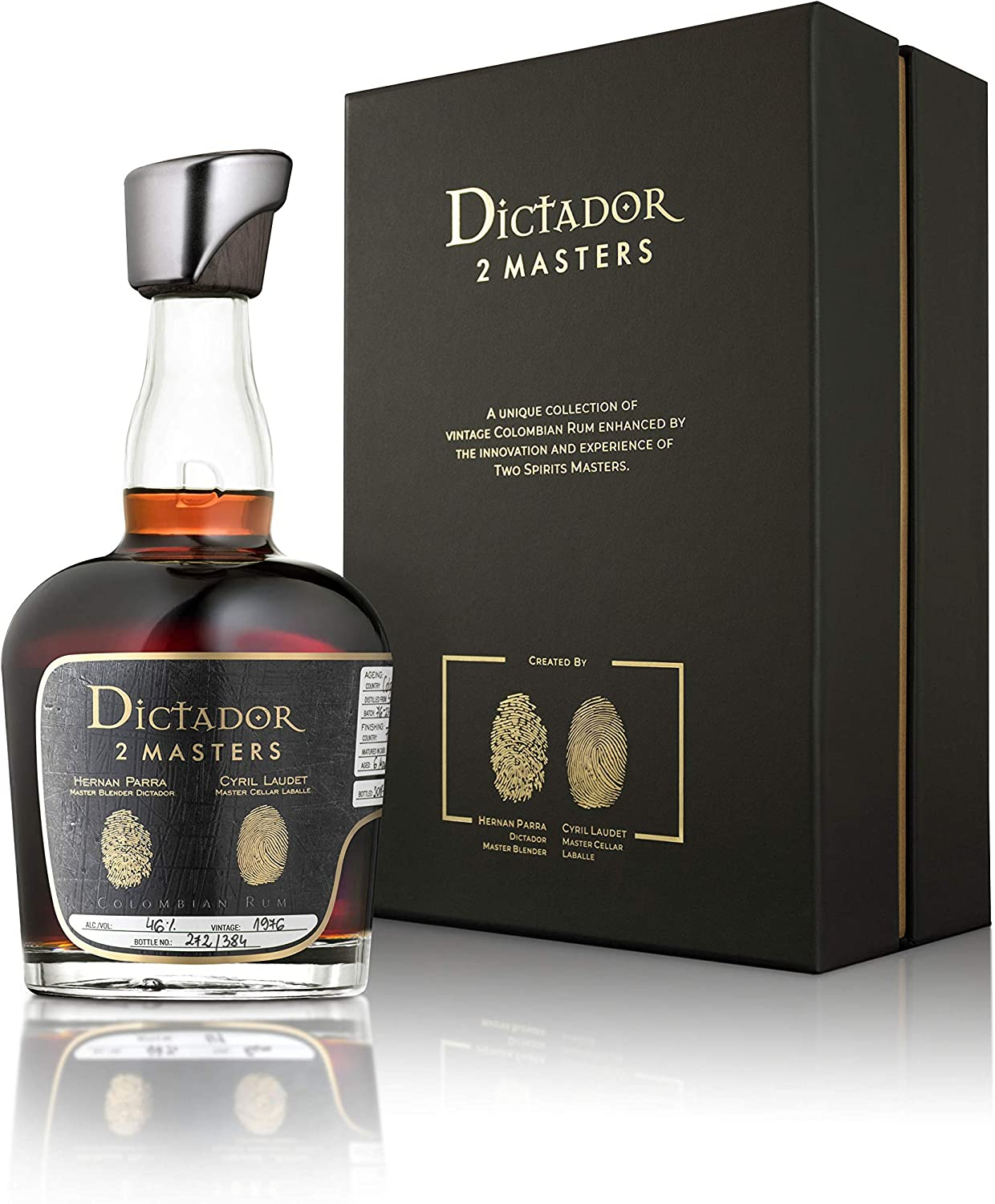 Dictador 2 MASTERS 37 Years Old Colombian Rum Château d ...