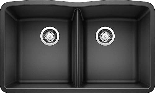 Blanco 511-702 Diamond Equal Double Bowl Kitchen Sink