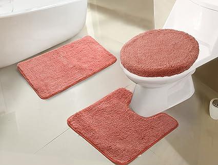 Amazoncom Rt Designers Collection Imperial 3 Piece Bath Rug Set