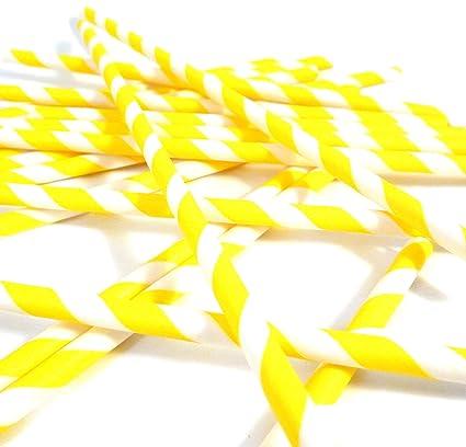 488f3f35250 Amazon.com  Bella Cupcake Couture Paper Party Striped Straws