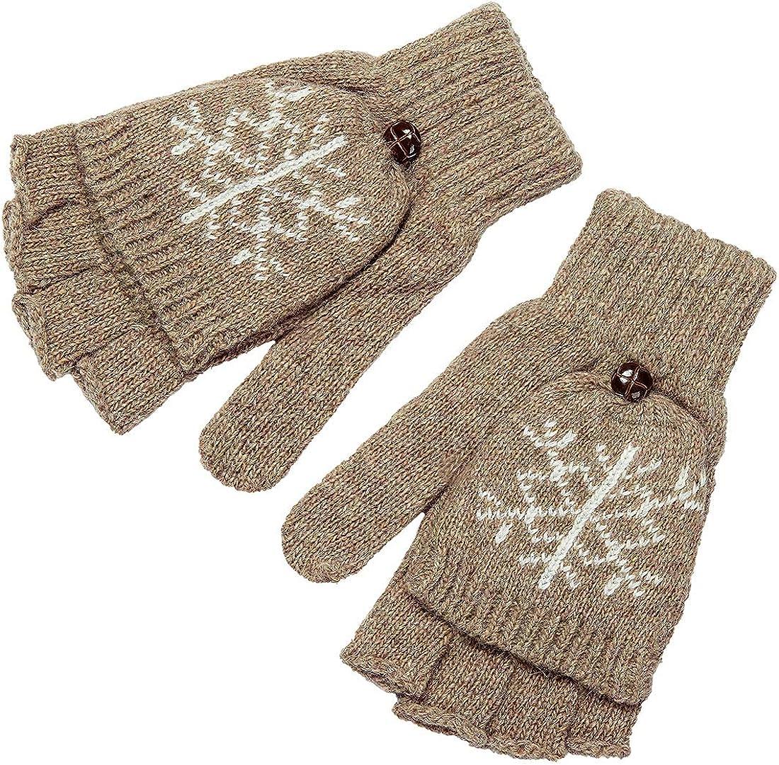 Women Winter Warm Gloves...