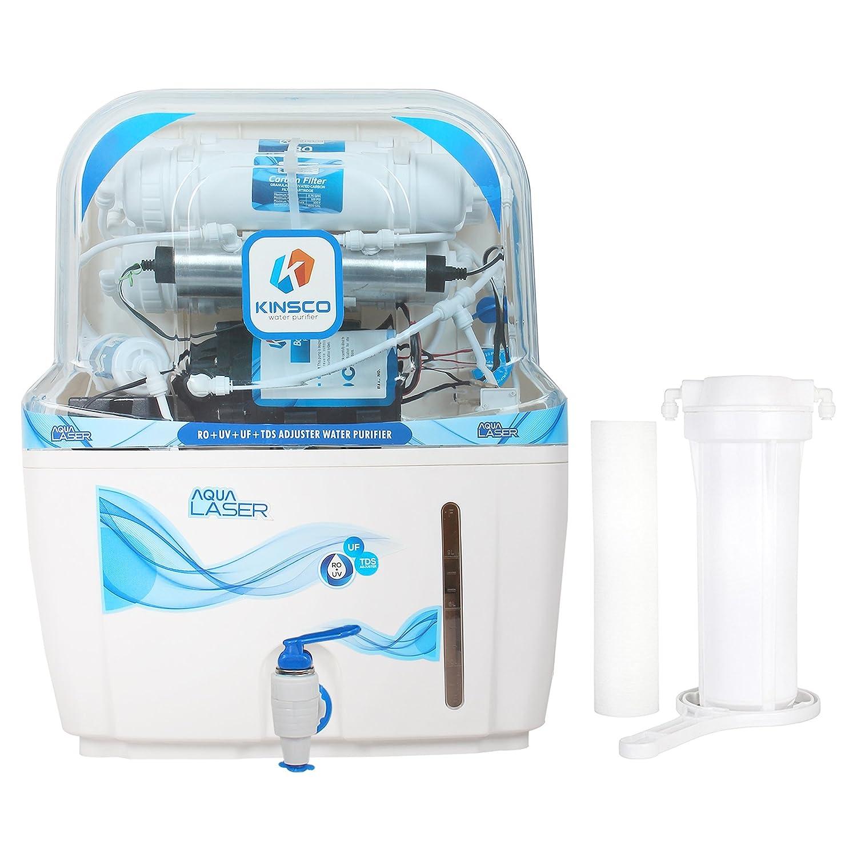 Kinsco Aqua Laser 15 L Ro+Uv+Uf+Tds Adjuster Water Purifier: Amazon ...