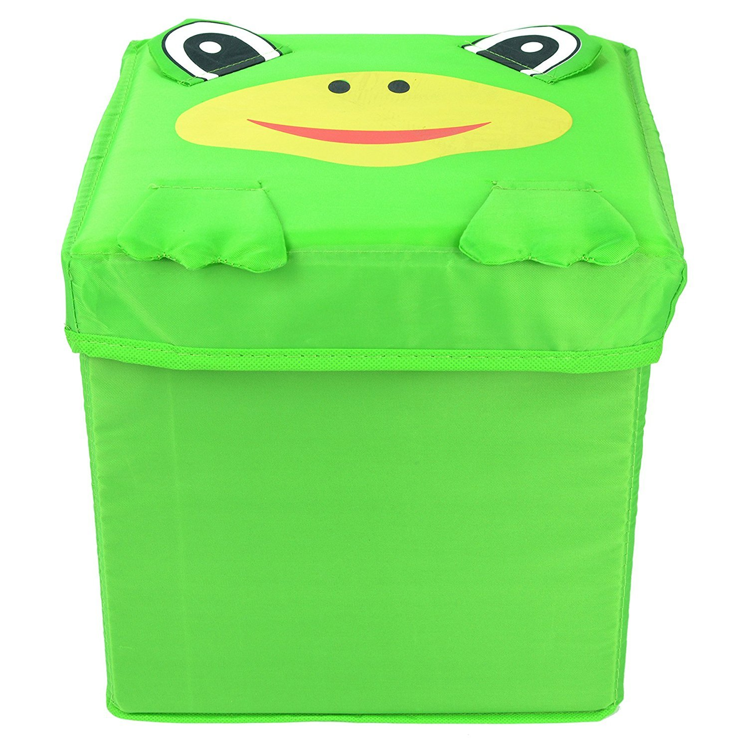 Angel's Best 2-Pack Toy Storage Cubes - Frog & Elephant Children's Closet Organizing & Storage Boxes - Great for Cube Organizers