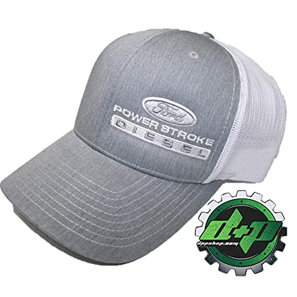 17a6638c4b0 Image Unavailable. Image not available for. Color  Ford Powerstroke Truck  hat Richardson 112 Gray Denim ...