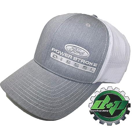 4d81be9921f9a Amazon.com   Ford Powerstroke Truck hat Richardson 112 Gray Denim ...