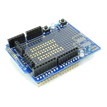 proto shield expansion board electronic circuit building prototyping