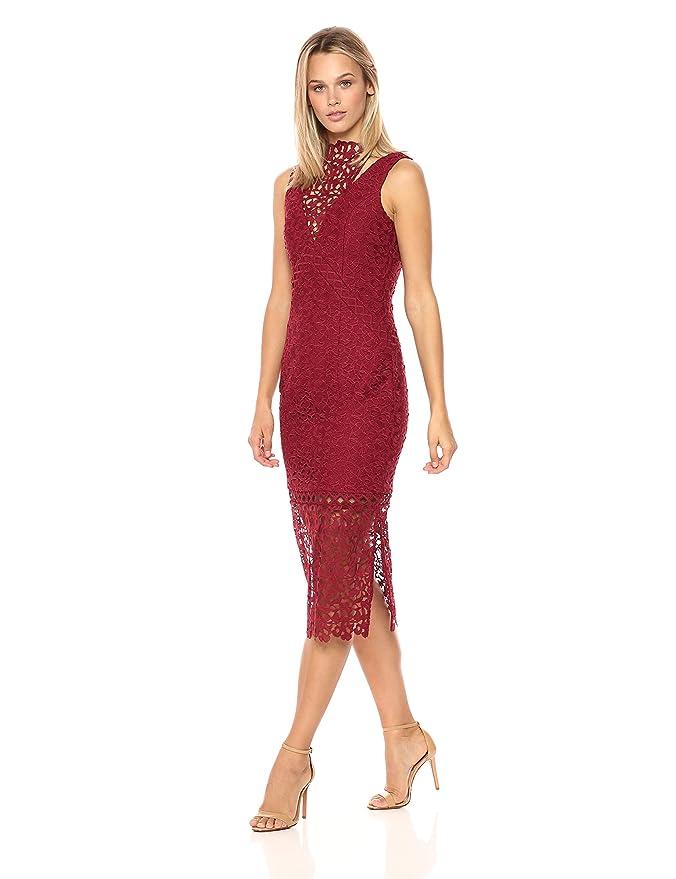 88d0ebe378c8 Keepsake The Label Women s Uplifted Lace Midi Dress at Amazon Women s  Clothing store