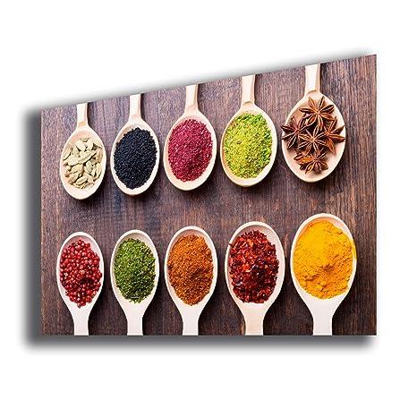 Quadro moderno Spezie cibo etnico Quadri Moderni Arte Cucina ...