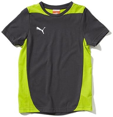Puma - Camiseta de fútbol sala para niño  Amazon.es  Deportes y aire libre a23cec9d77659