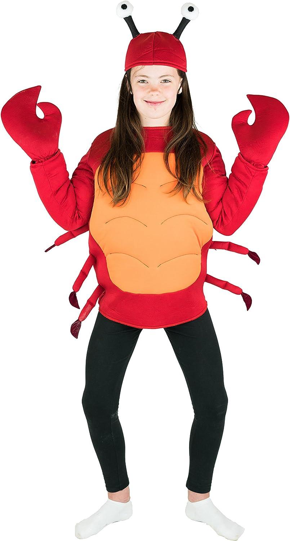 Bodysocks® Disfraz de Cangrejo Niño: Amazon.es: Juguetes y juegos