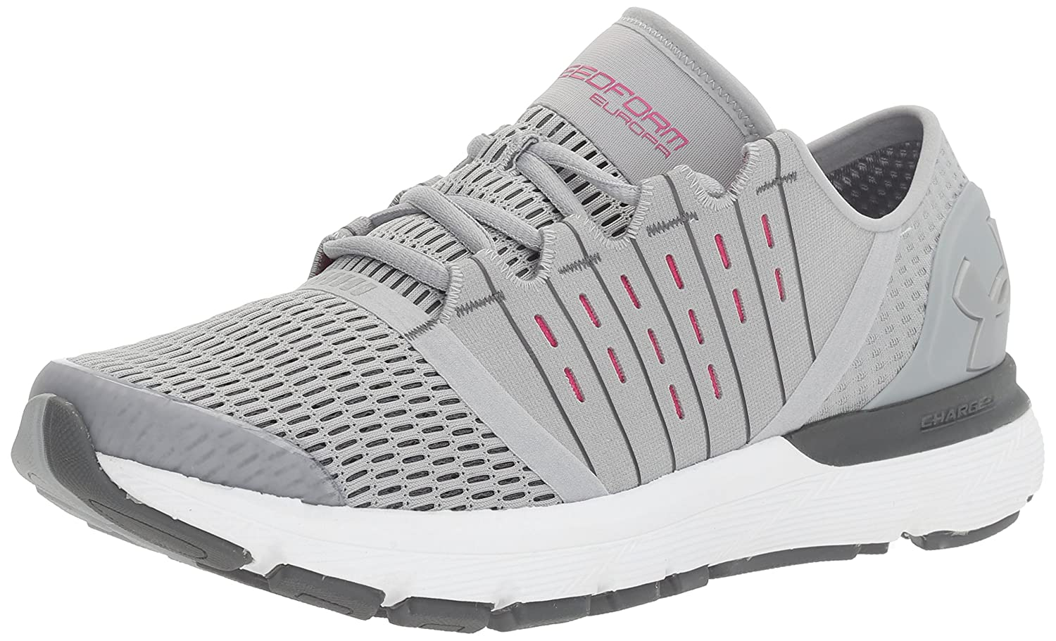 Under Armour Women's Speedform Europa Running Shoe B01GQL050G 8 M US|Overcast Gray (941)/Rhino Gray