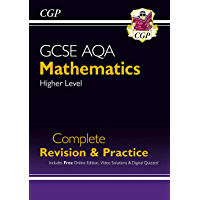 New 2021 GCSE Maths AQA Complete Revision & Practice: Higher inc Online Ed, Videos & Quizzes (CGP GCSE Maths 9-1…