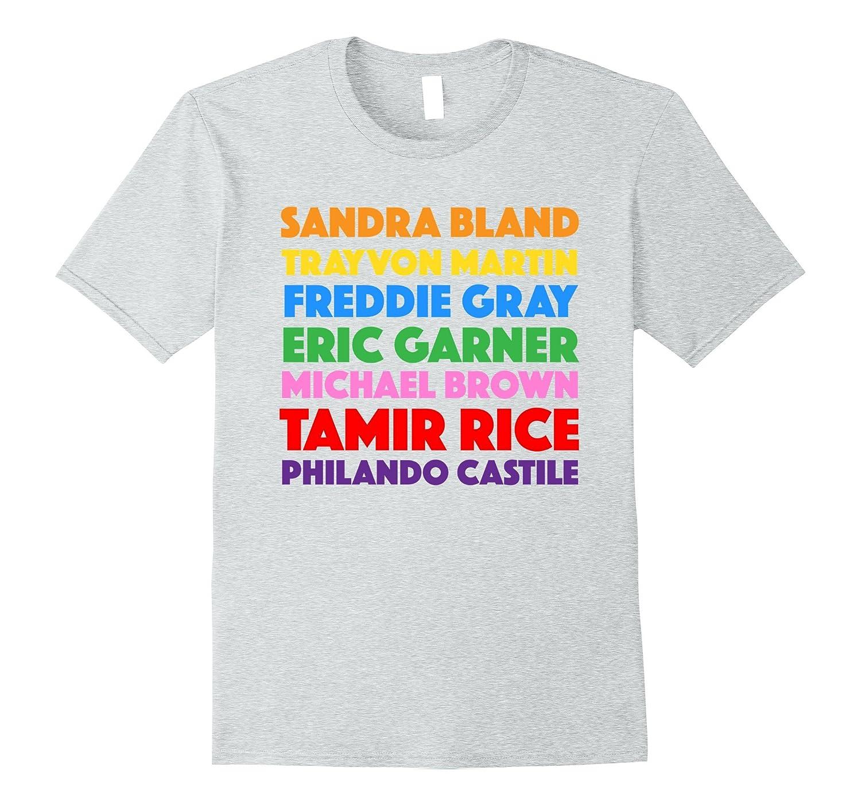13607176 Say Their Names Shirt Black Lives Matter Tee Melanin-BN – Banazatee