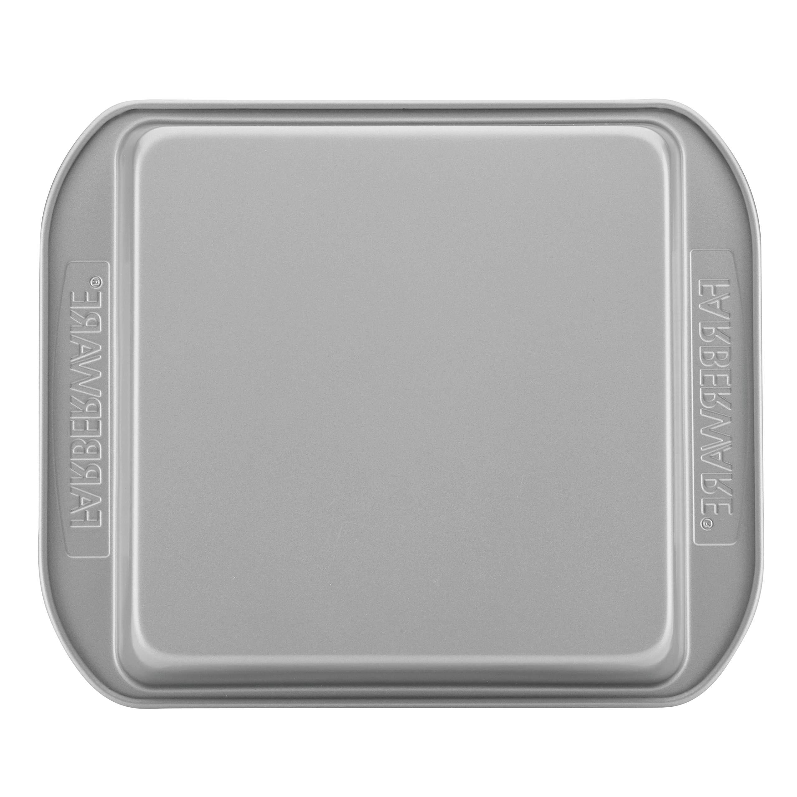 Farberware 47744 2-Piece Rectangular Set Steel Cake Pan, Gray by Farberware (Image #3)