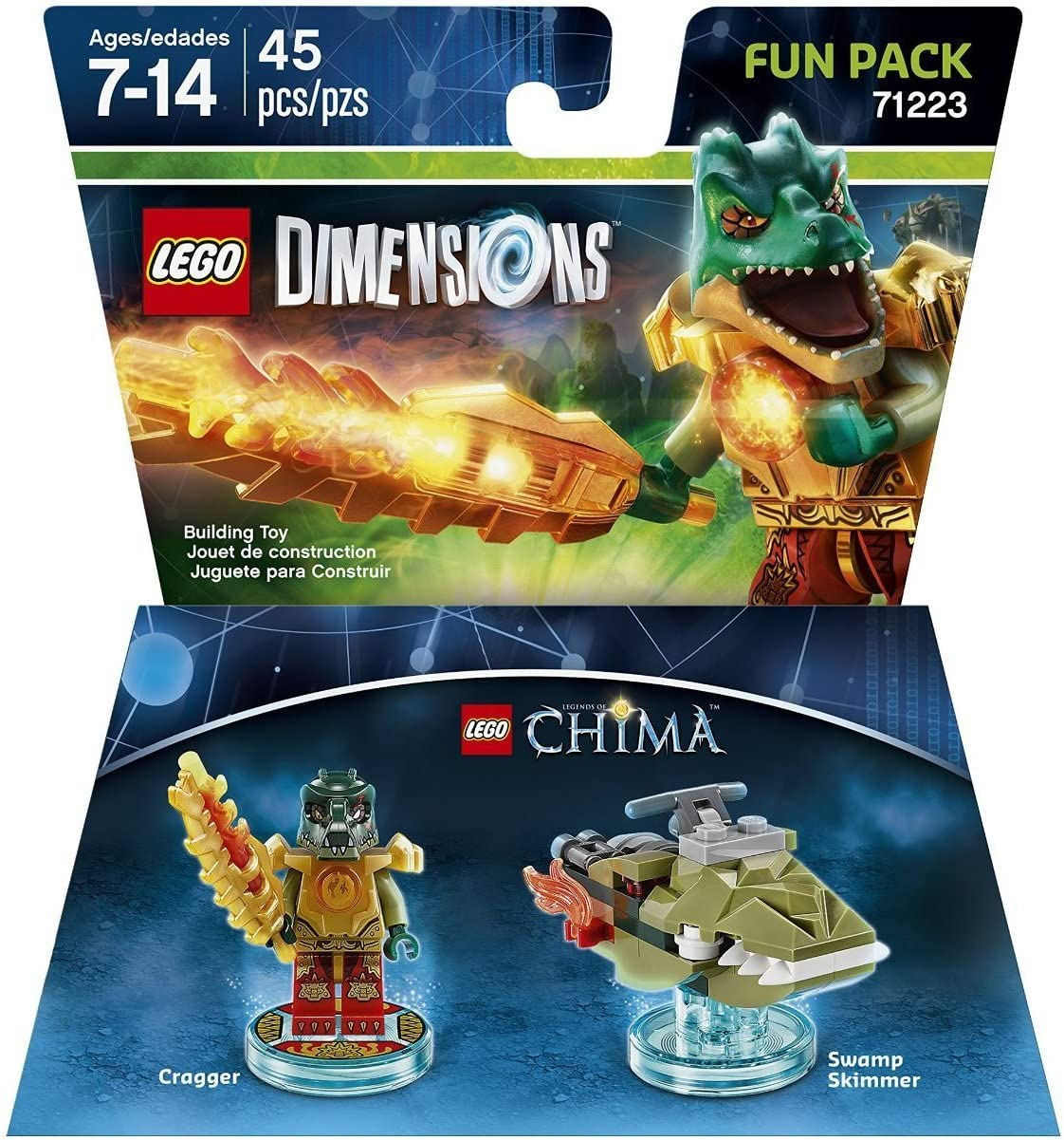 Lego Dimensions Building Toy Pack (Chima Cragger 71223)