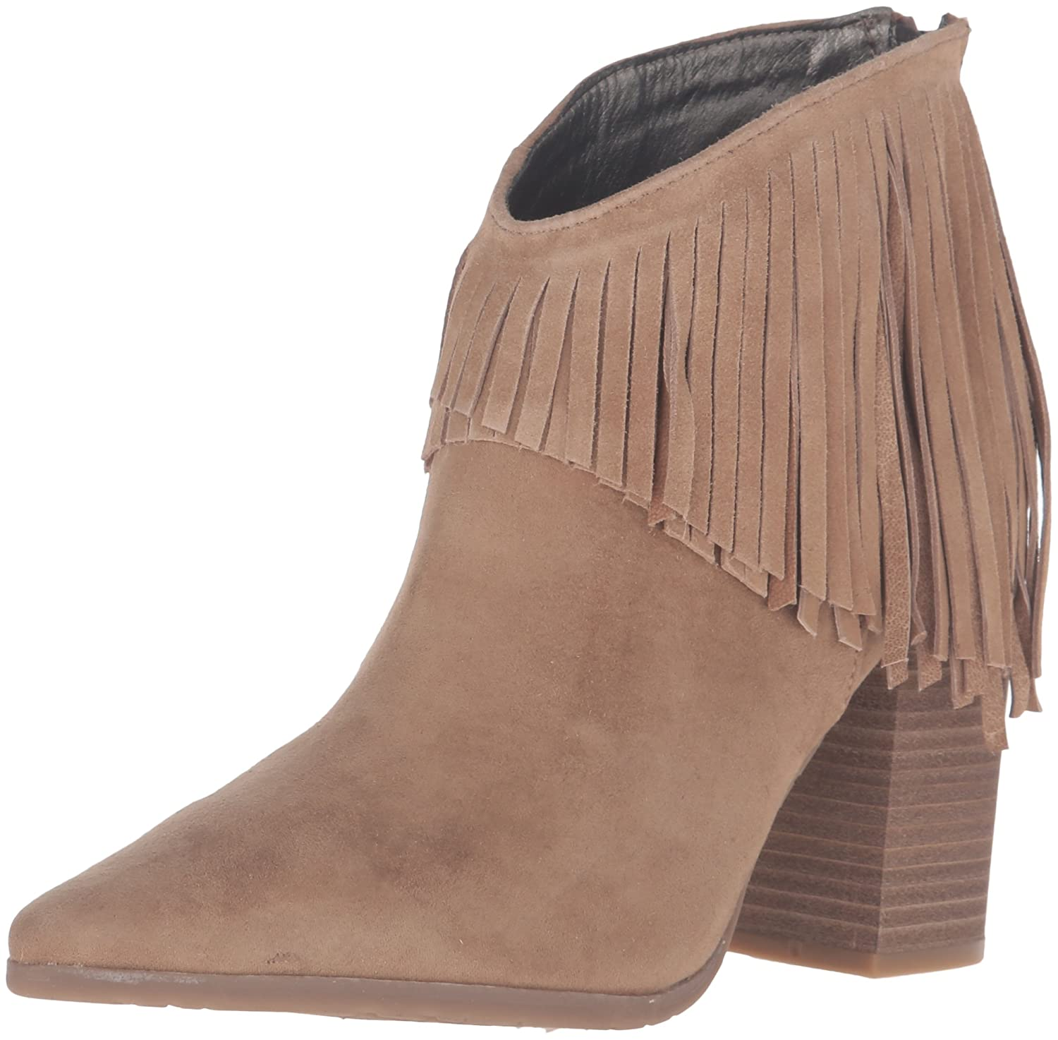 Kenneth Cole REACTION Pull Pull REACTION Ashore Faux Wildleder Mode-Stiefeletten Almond 671cf4