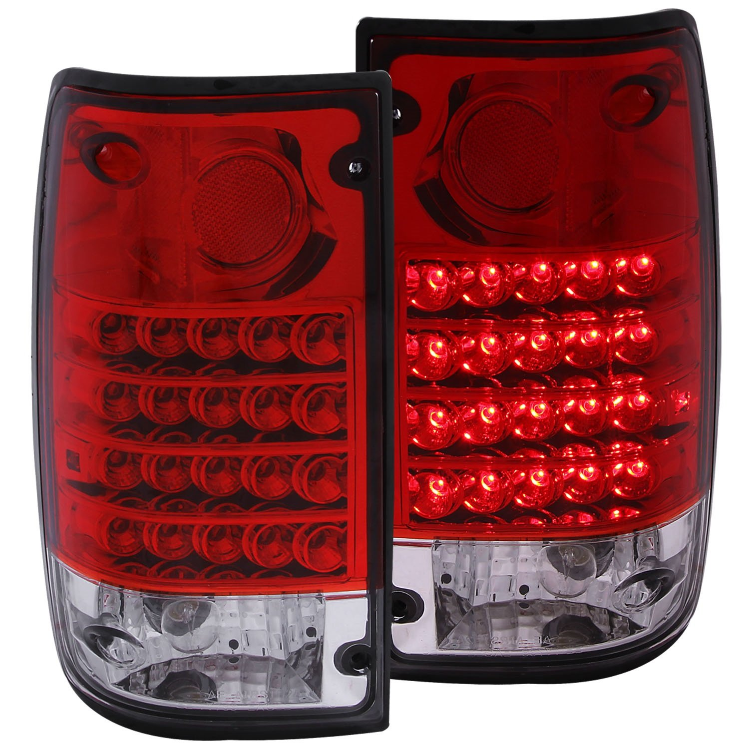 Anzo USA 311043 Toyota Pickup Red//Clear LED Tail Light Assembly Sold in Pairs