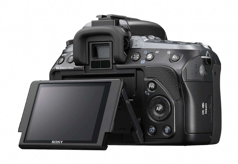 amazon com sony alpha dslr a550 14 2mp digital slr camera body