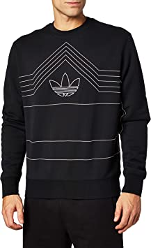 delucidazione Salutare cavità  adidas Men's Rivalry Crew Sweatshirt: Amazon.co.uk: Sports & Outdoors