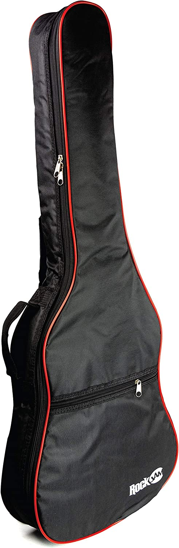 Rockjam tamaño 3/4 acolchado acústico Bolso de la guitarra