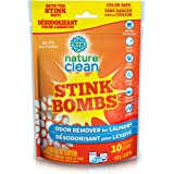 Nature Clean Stink Bombs Odor Remover Pacs for Laundry, 10 count, 0.44 kg