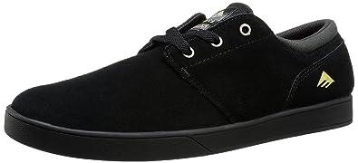 Emerica Uomo The Figueroa Skateboarding Scarpe, Nero (Black