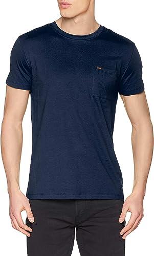 TALLA S. Lee Ultimate Pocket tee Camiseta para Hombre