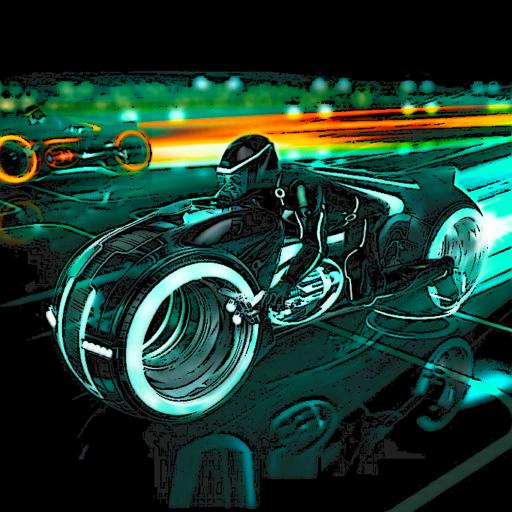 Light Bikes Io