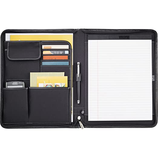 I Attached My Resume Excel Amazoncom  Leeds Executive Metropolitan Zippered Padfolio  Resume Header Format with Good Job Skills To Put On Resume Excel Amazoncom  Leeds Executive Metropolitan Zippered Padfolio  Padfolio Ring  Binders  Office Products Resume For Event Coordinator Excel