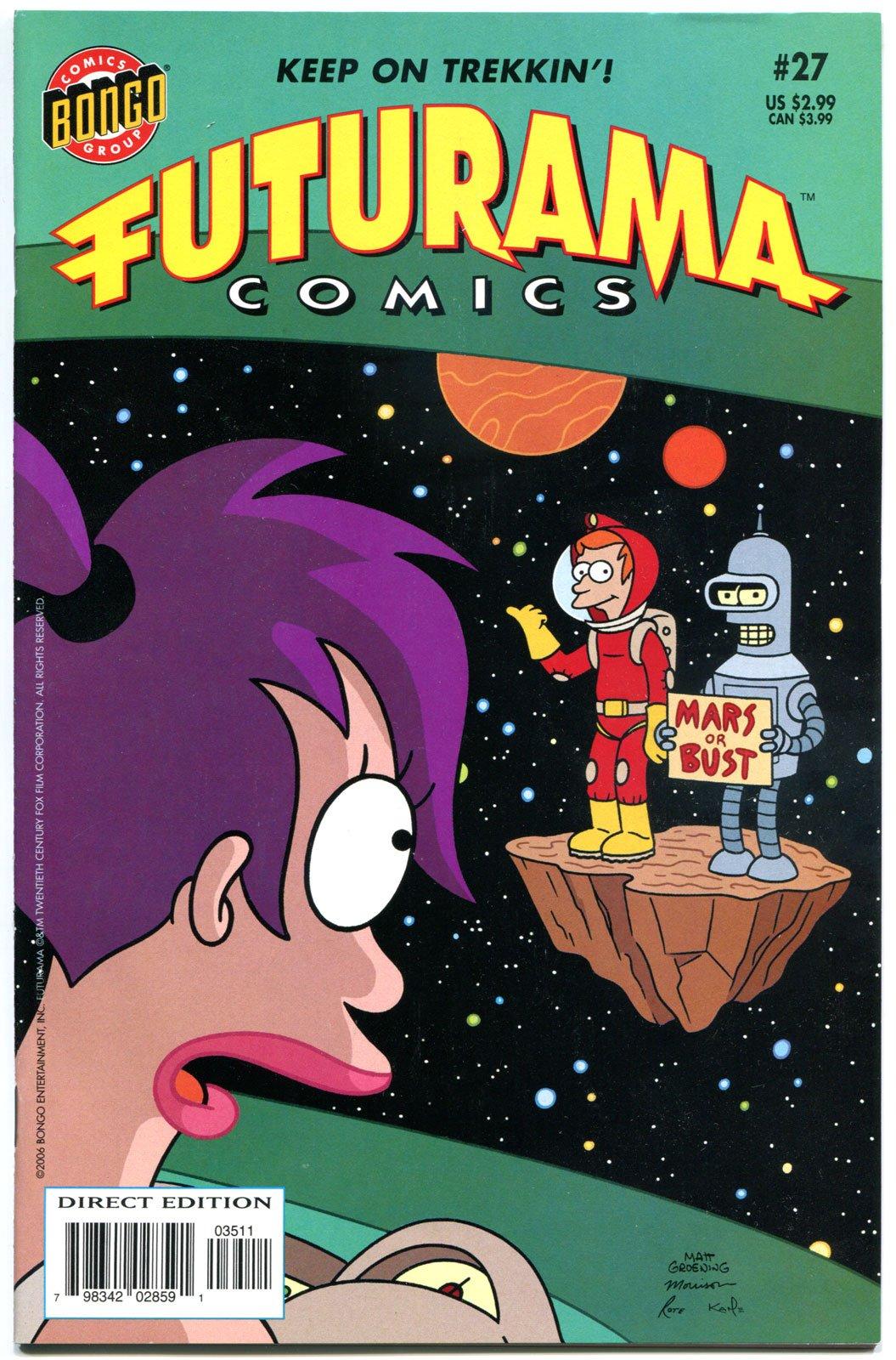 Futurama Comics #27 pdf epub