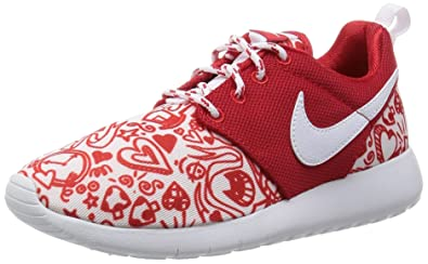 8285d8d14c5ba Nike Roshe ONE Print (GS) Girls Running-Shoes 677784-605 6.5Y
