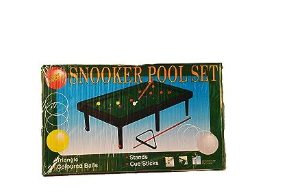 Buy Cossetpack Designer Wood Studio Mini Pool Table Toy ...