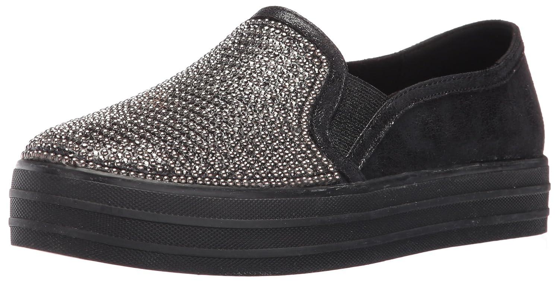 Skechers Damen OG 97-Shiny Sneaker, Silber  41 EU|Schwarz (Bbk)