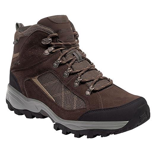 Great Outdoors Mens Kota Mid Walking Boot (9 US) (Black/Granite)