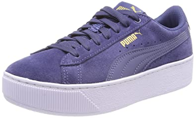 254f9d6c5d Puma Women s Vikky Platform Low-Top Sneakers  Amazon.co.uk  Shoes   Bags