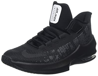 lowest price 29dc2 d6b04 Nike Jungen Air Max Infuriate 2 Mid (GS) Fitnessschuhe, Schwarz Black/ Anthracite