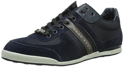 Boss Green Akeen Hombre Zapatillas Negro: Hugo Boss Green: Amazon.es: Zapatos y complementos