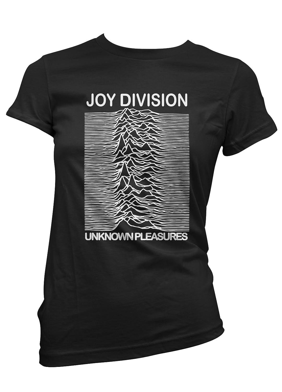 T-shirt femme Joy Division - T-shirt rock 100% coton LaMAGLIERIA