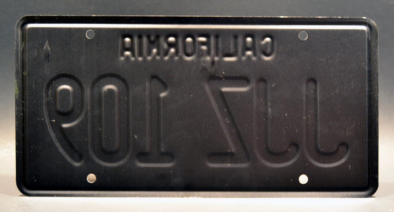 Bullitt JJZ 109 Metal Stamped License Plate
