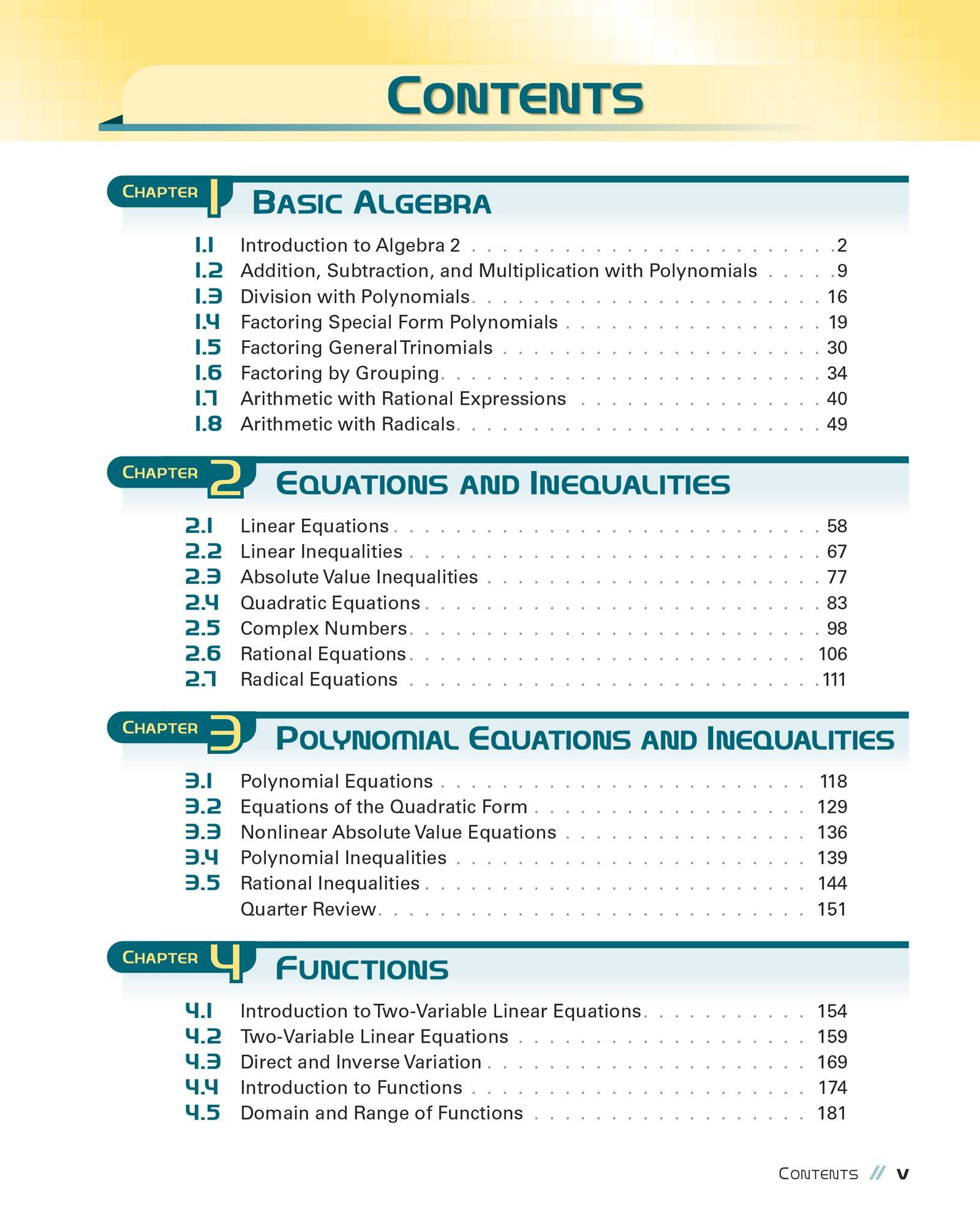 Algebra 2: Ben Lane, Brian McDivitt, Dale Thompson: Amazon.com: Books