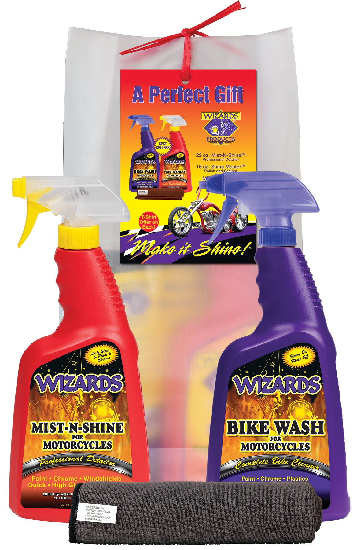 Wizards 71001 Motorcycle Gift Bag