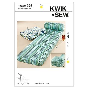 Amazon.de: KwikSew Schnittmuster 3591 Sitzkissen S-M-L