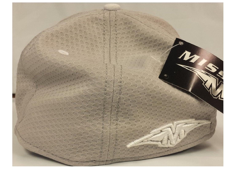 52c28911 Bauer Hockey Mission New Era 39THIRTY Hockey Hat, Gray With White Logos  (S-M) at Amazon Women's Clothing store: