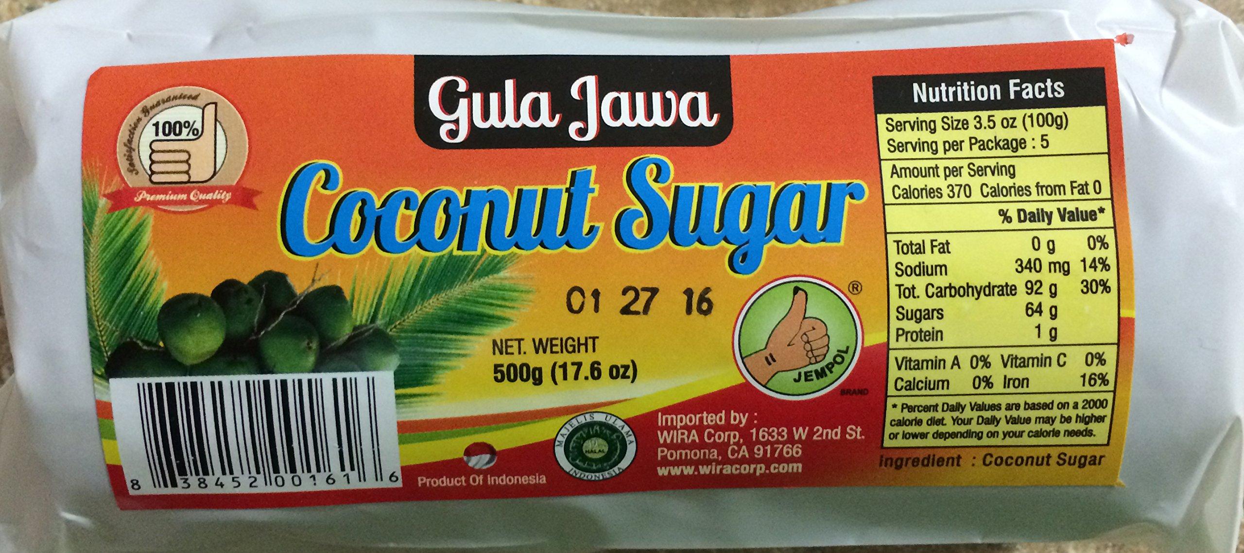 Gula Jawa (Coconut Sugar) - 16oz